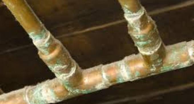 La corrosion des canalisations