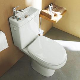 le pack wc à lave main integré